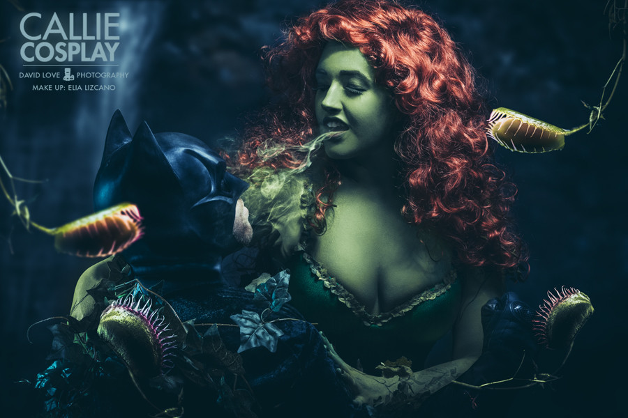 POISON IVY Cosplay by Callie Cosplay — GeekTyrant The Amazing Spider Man 3 Black Cat