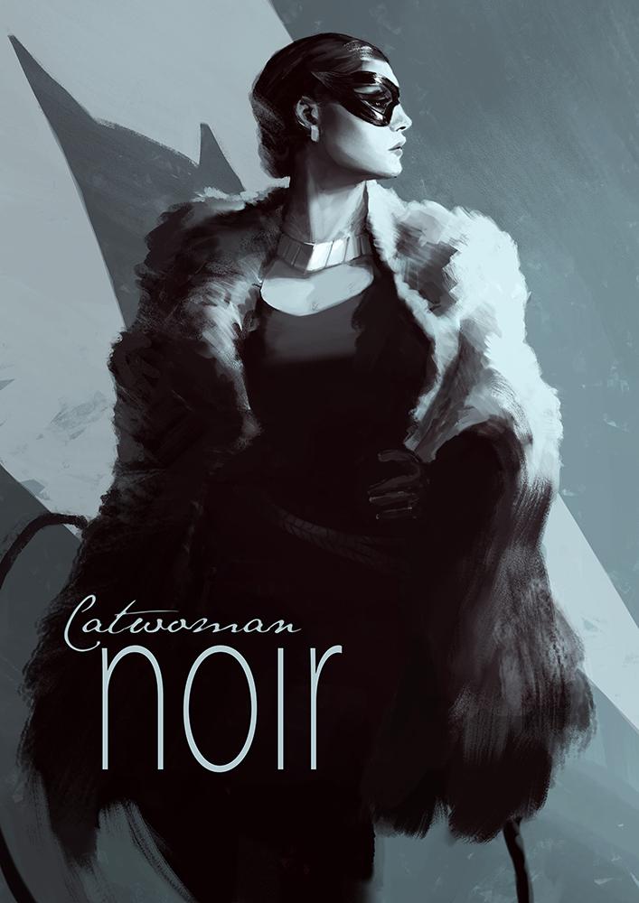 Film Noir Batman Character Art — GeekTyrant