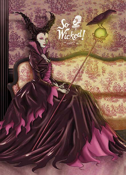 Disney Villain Fan Art So Wicked Series Geektyrant