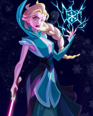 disney princesses as star wars characters by ralph