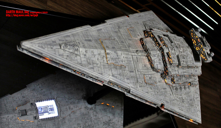 Insanely Stunning Star Wars Imperial Star Destroyer Model — GeekTyrant