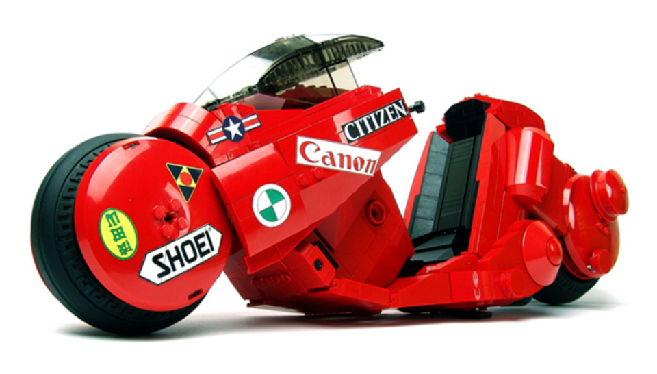 awesome lego model for akira motorcycle  u2014 geektyrant