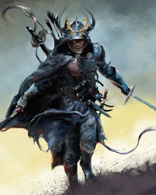 incredibly cool fantasy warrior art by david seguin geektyrant