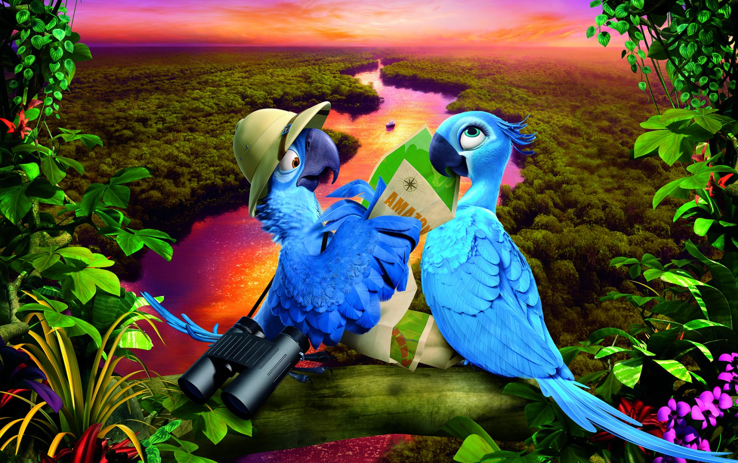 Colorful trailer for rio 2 geektyrant colorful trailer for rio 2g voltagebd Images