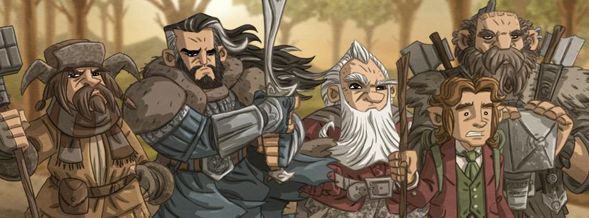 Tolkien Facebook Cover by Otis Frampton 2.jpg