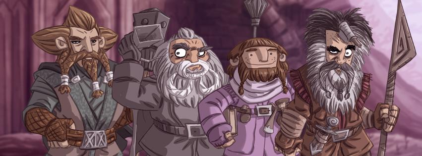Tolkien Facebook Cover by Otis Frampton 9.jpg
