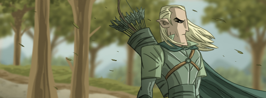 Tolkien Facebook Cover by Otis Frampton 10.jpg