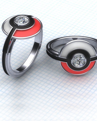 POKEMON Themed Engagement Rings GeekTyrant