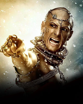characters in 300 spartans