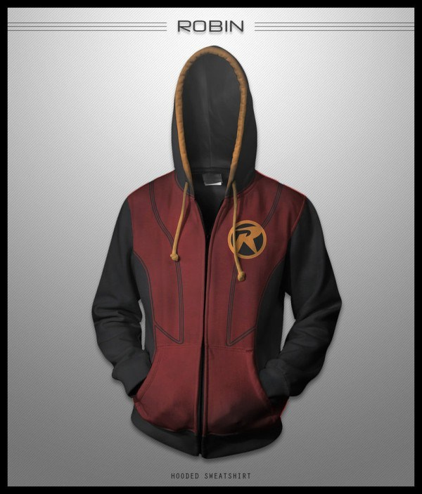 most badass superhero hooded jacket designs ever geektyrant