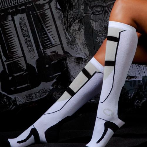 Portal 2 Long Fall Socks