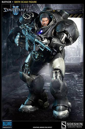 Sideshow Starcraft Raynor Sixth Scale