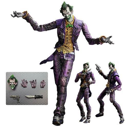 Play Arts Kai Joker Arkham City Figure