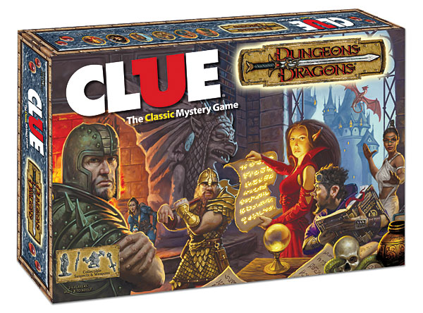 Dungeons and Dragons Clue