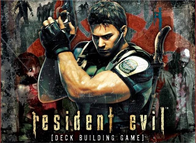 Resident Evil Deck Building Game
