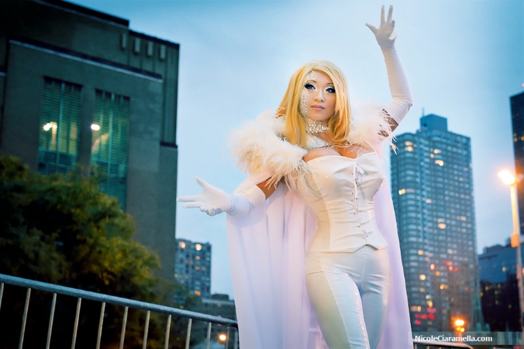 Yaya Han is White Queen | Photo by: Nicole Ciaramella