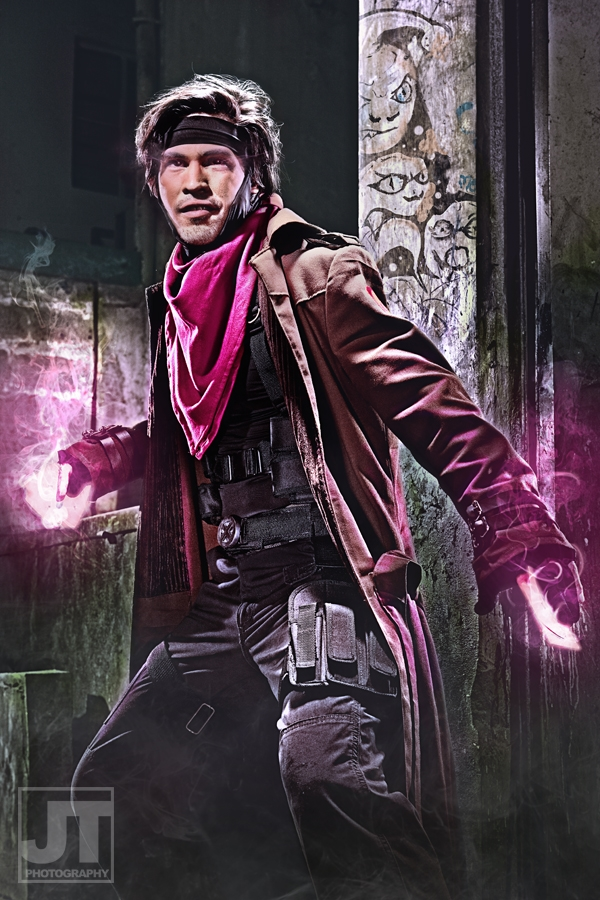 Paolo Paraiso is Gambit | Photo by: Jay Tablante | Make-up and Styling by: Ria Redor & Hannah Kim | Costume Production and Art Direction by: Badj Genato & Rock Jehiel Manuel | Digital Imagin and Production Design by: Rock Jehiel Manuel & Raffy Tesoro