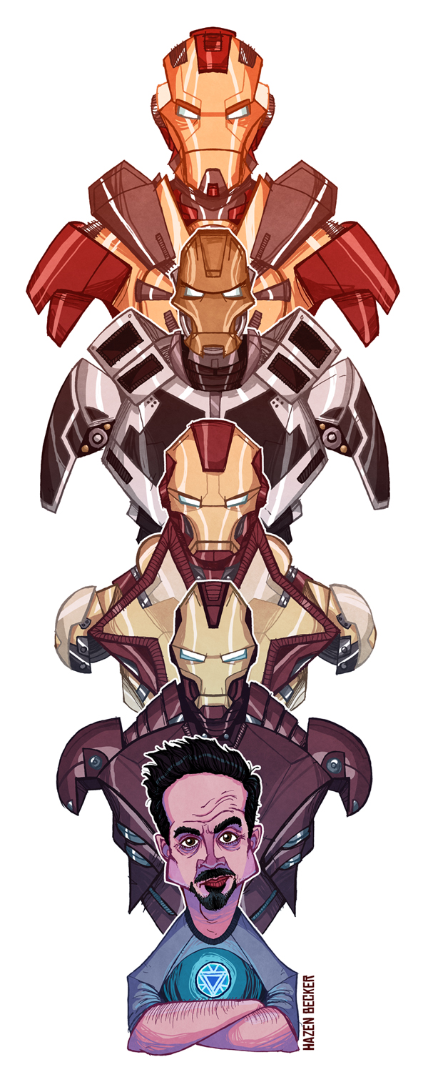 iron man fan art - the mechanic and the mandarin — geektyrant