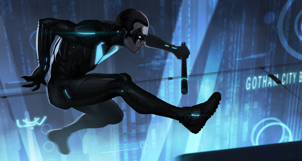 Nightwing Beyond by Yvan Quinet — GeekTyrant