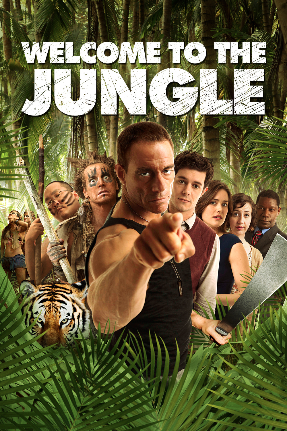 Welcome to the Jungle (2013) affiche