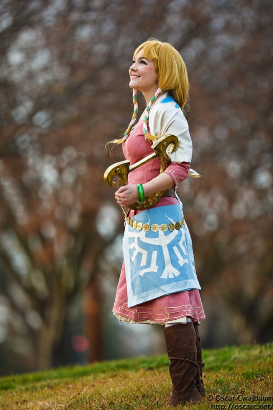 Bekalou Cosplay is Zelda | Photo by: Ocwajbaum