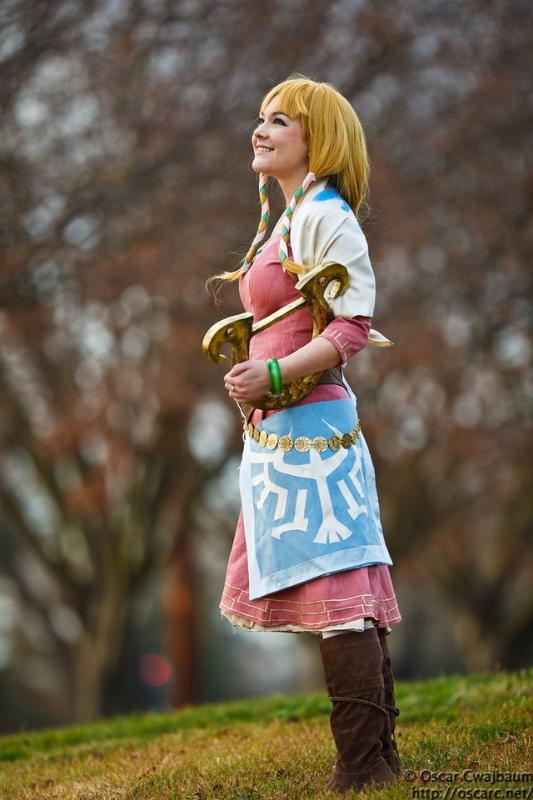 Bekalou Cosplay is Zelda | Photo by: Ocwajbaum