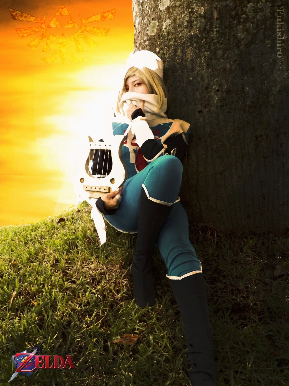 IIMishall is Zelda (Sheik) | Photo by: Yukishir0