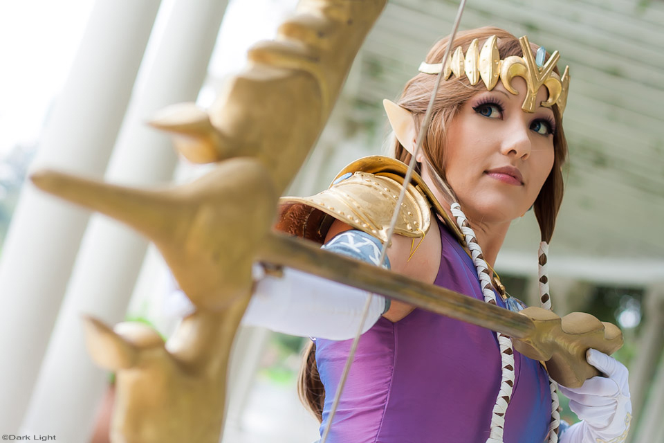 Susan Escalante is Zelda | Photo by: Andree Dark Light