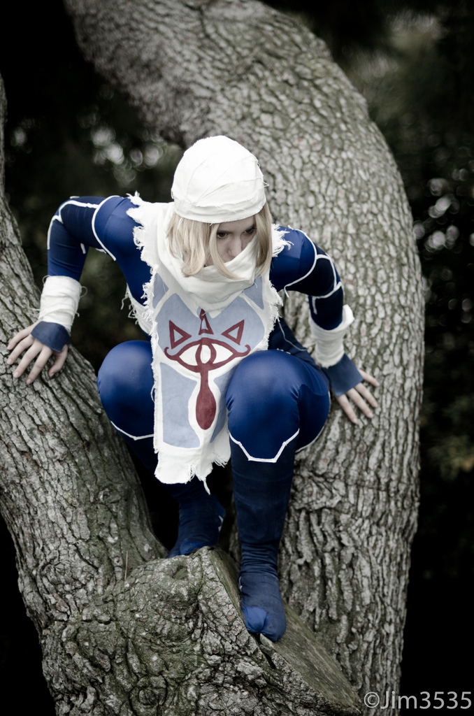 Rappy Demon is Zelda (Sheik) | Photo by: Jim3535