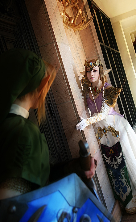 Lillyxandra is Zelda and Pikminlink is Link | Photo by: Doug Durham