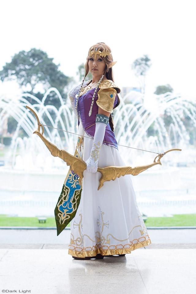 Susan Escalante is Zelda | Photo by: Andree Dark Light