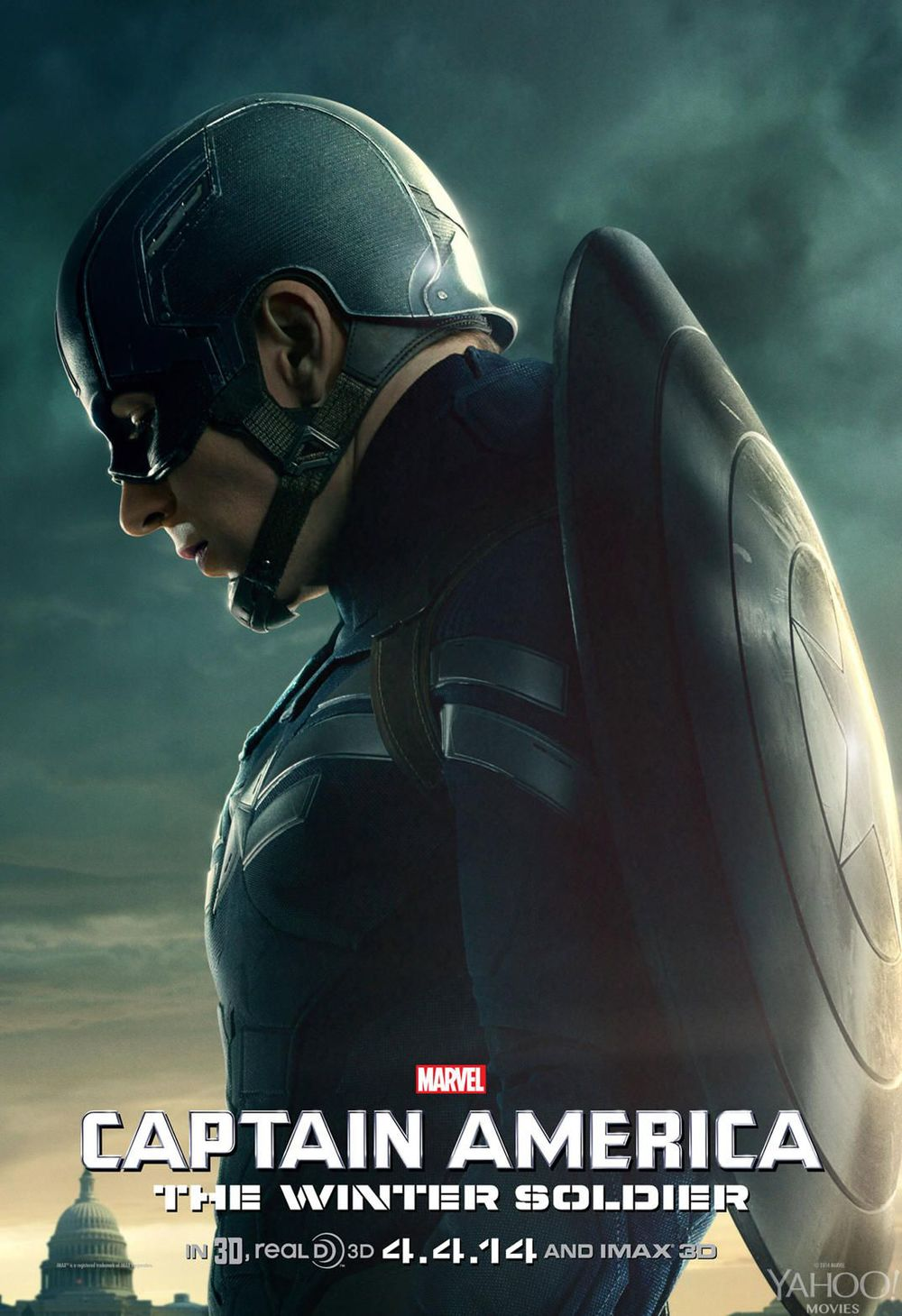 Captain America The Winter Soldier 3 Character Posters