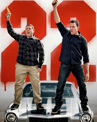 Poster for 22 JUMP STREET with Jonah Hill and Channing ...