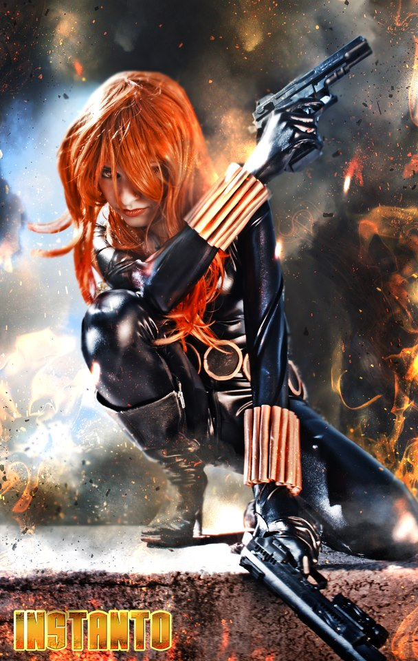 IssssE is Black Widow | Photo by: Sergio Aguirre