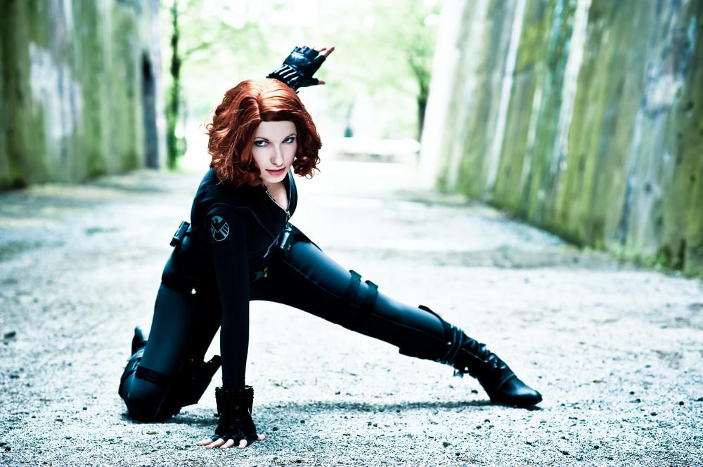 Rayi-Kun is Black Widow | Photo by: Franky-Chan