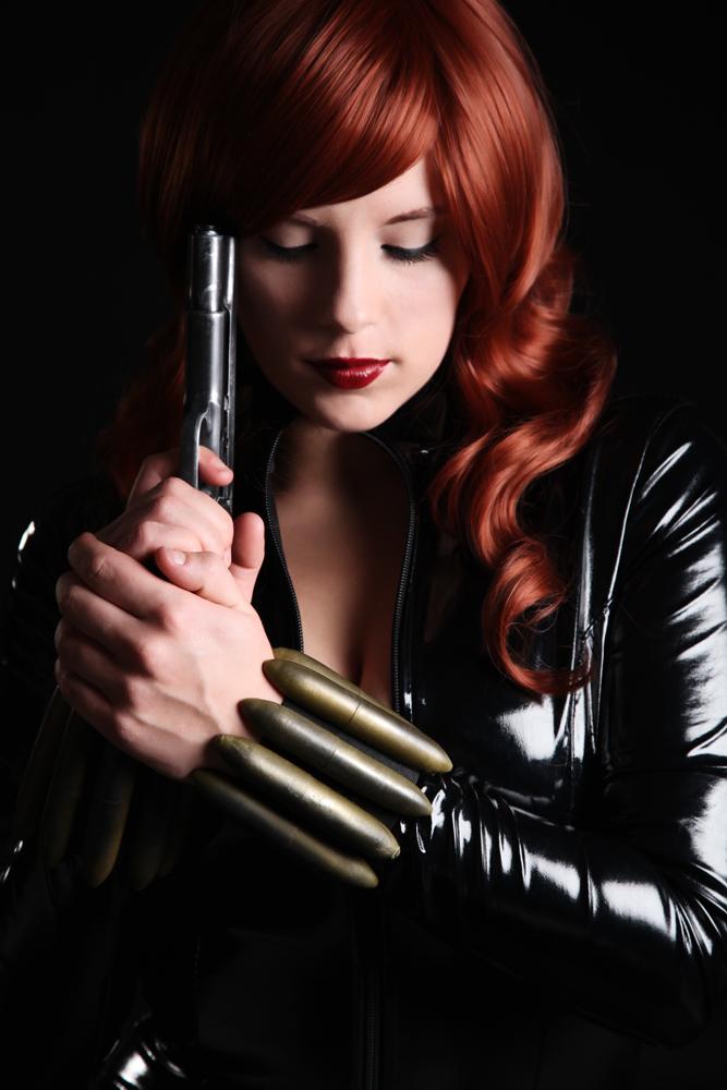 Alexia Jean Grey is Black Widow | Photo by: Superhero Photography