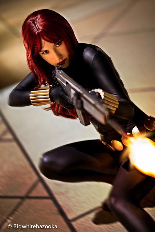Crystal Graziano is Black Widow | Photo by: Big White Bazooka