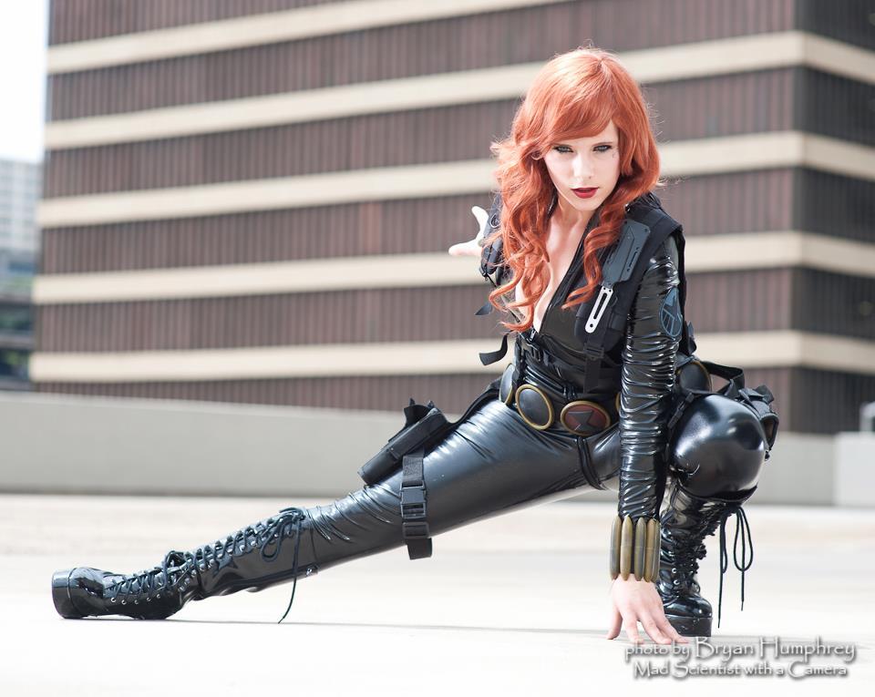 Alexia Jean Grey is Black Widow | Photo by: Bryan Humphrey Photography