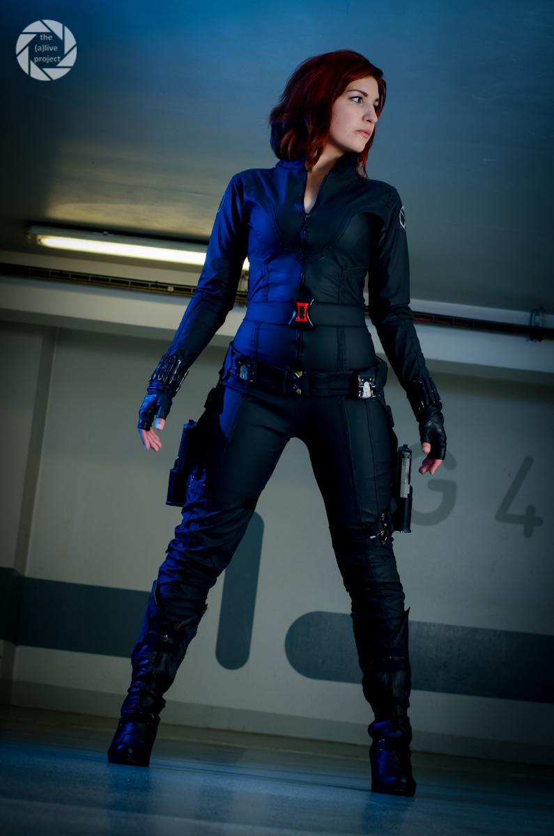 Ayuko Cosplay is Black Widow | Photo by: Antony Gomes