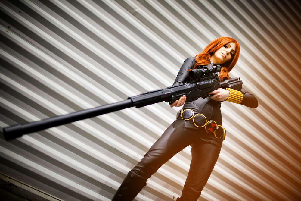Vera Chimera    is Black Widow | Photo by:    Andy Wana