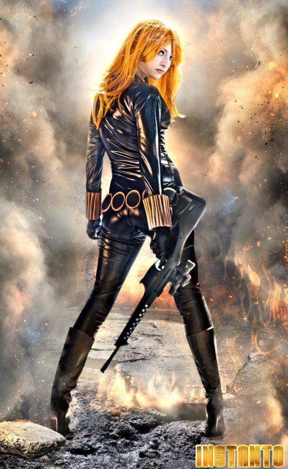 IssssE is Black Widow | Photo by: Sergio Aguirre