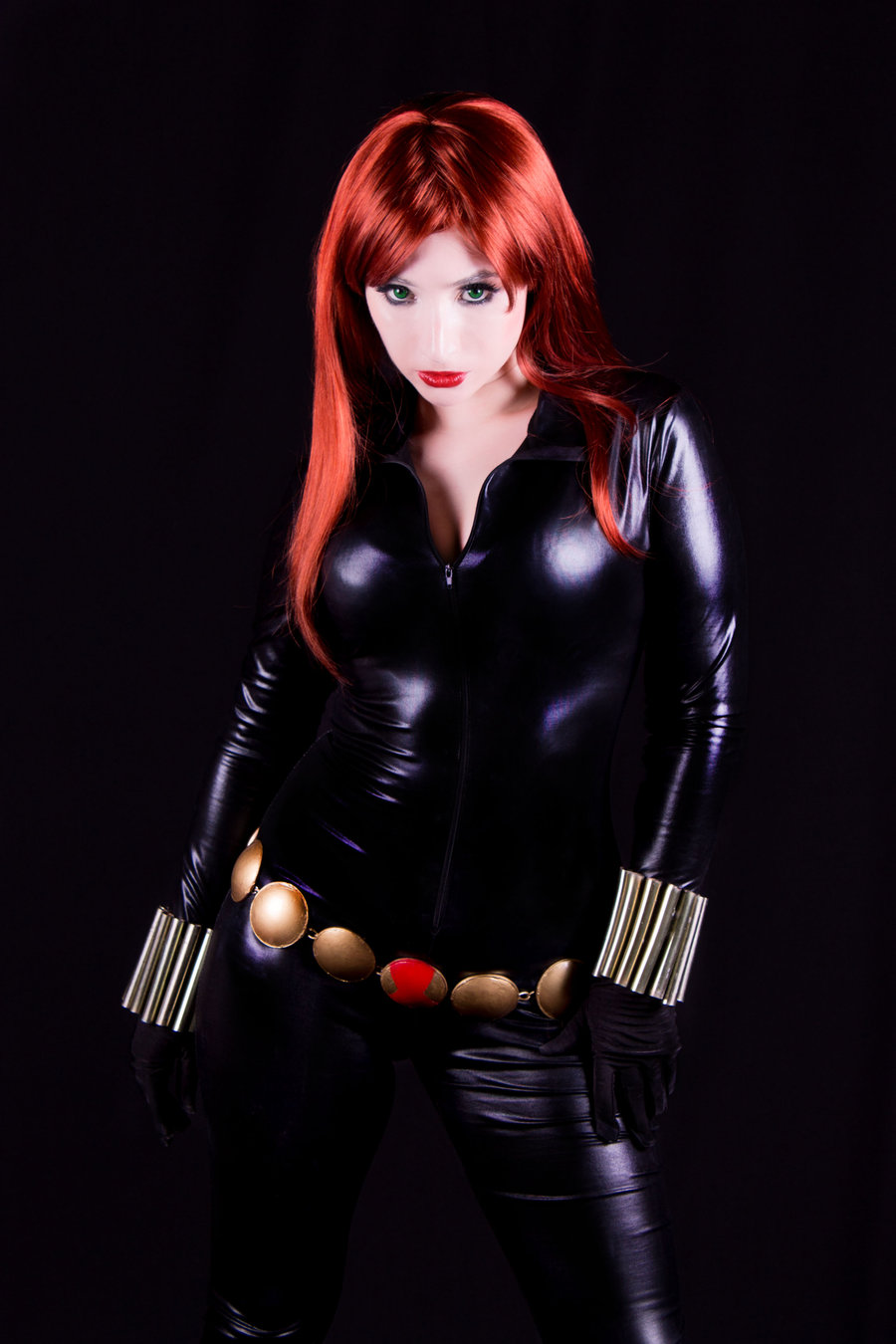Black widow hot naked cosplay hentai gallery