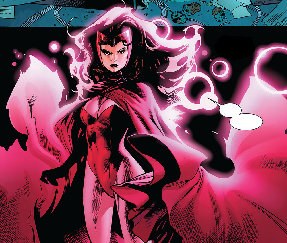 Elizabeth Olsen on Her Scarlet Witch Costume in AGE OF ULTRON ...