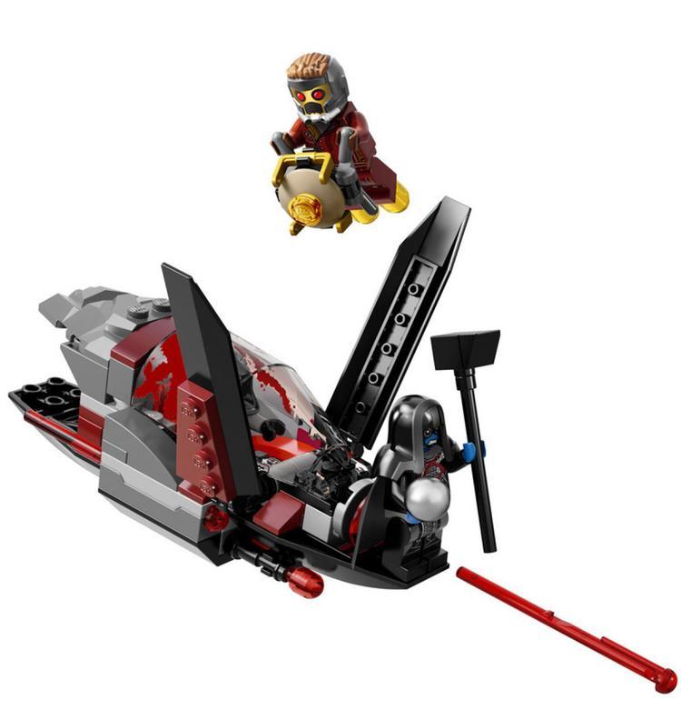 GUARDIANS OF THE GALAXY Movie LEGO Set - Milano Spaceship Rescue ...