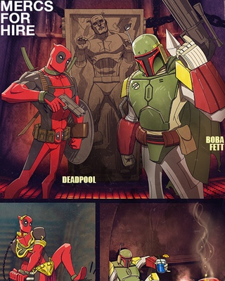 Deadpool Vs. Freakazoid Fan Art — GeekTyrant