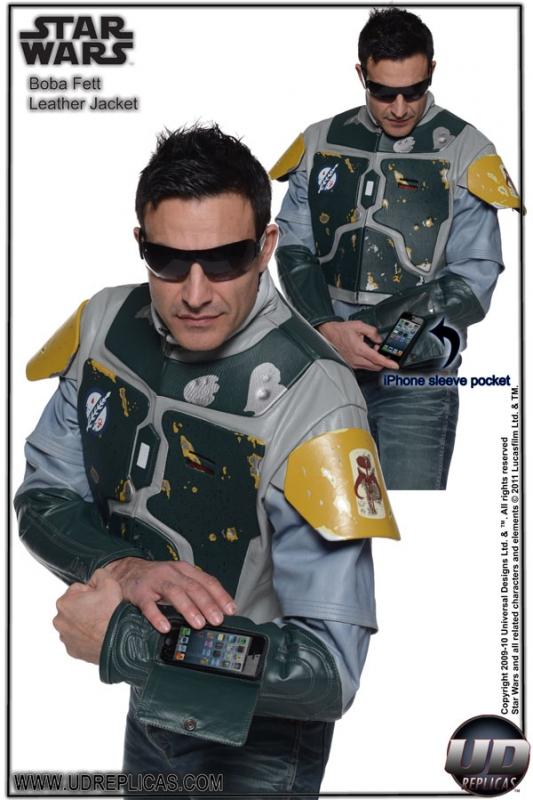 Boba Fett Leather Street Jacket Replica Geektyrant