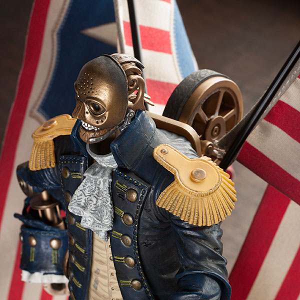 Bioshock Infinite Cosplay Patriot Patriot stands about 12