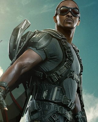 Falcon Character Poster for CAPTAIN AMERICA: THE WINTER ...