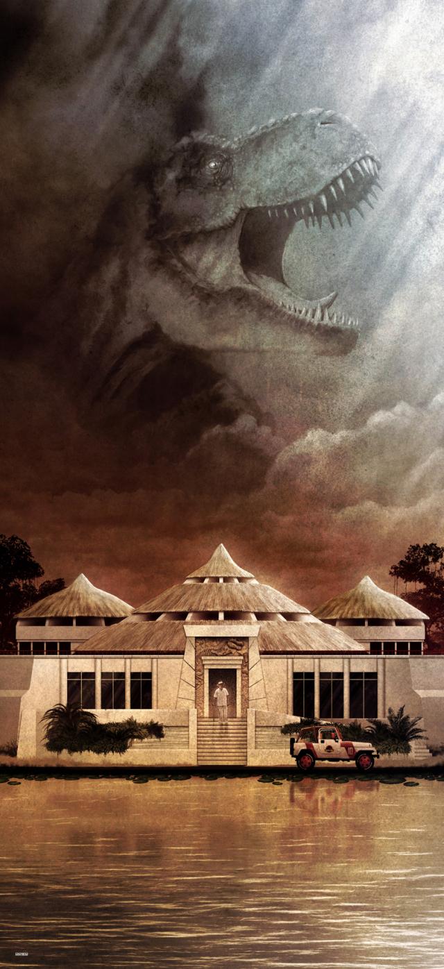 stunning-poster-art-for-iconic-movies-by-matt-fergusonMatt-Ferguson-Jurassic-Park-2.jpg
