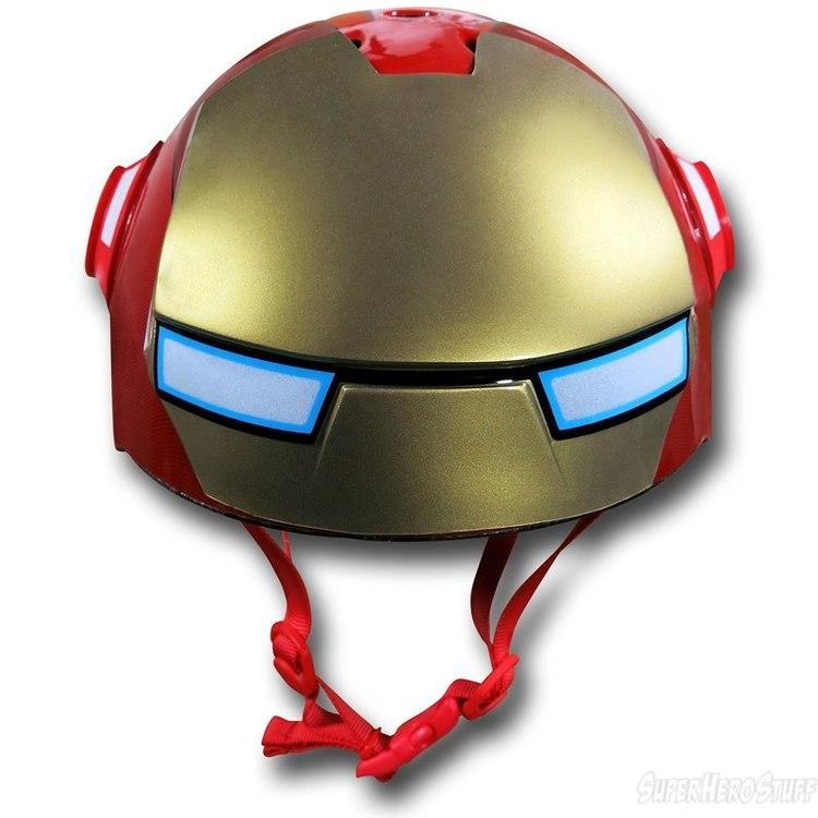 Iron Man Street Bike Iron-man-kids-bike-helmet-01